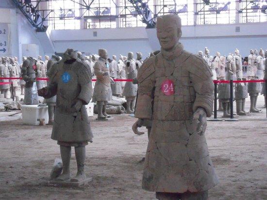 Mausolée de l'empereur Qin : The Detail