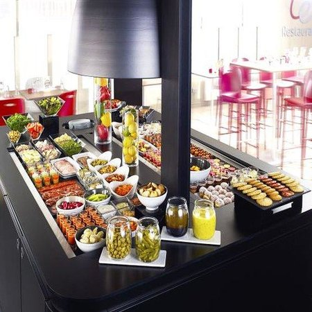 Campanile Bethune - Fouquieres Les Bethune: Buffet Restaurant