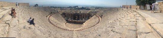 Hierapolis & Pamukkale : Theatre, Hierapolis, Panukkale