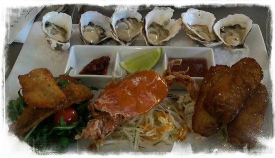 Garfish: Pacific Oysters with some warm starters