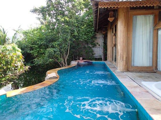 Santhiya Koh Phangan Resort & Spa: Our pool at Villa 602