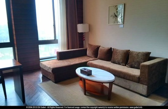 G-Luxe Hongqiao Shanghai: sofa area in room