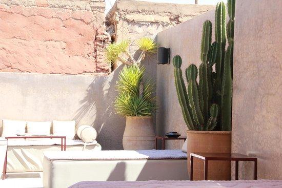 Riad Dar One: Terrace1