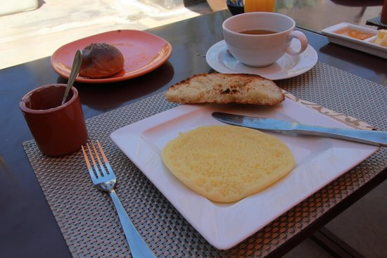 Riad Dar One : Terrace4 breakfast