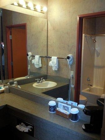 "The Mill Casino Hotel: ""2 room"" bathroom w/plenty of counter space"