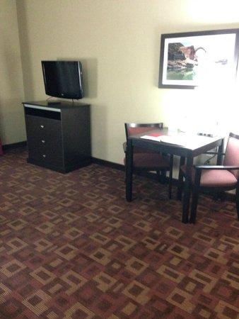 Comfort Inn & Suites : Living room area