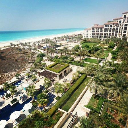 The St. Regis Saadiyat Island Resort: View from the room