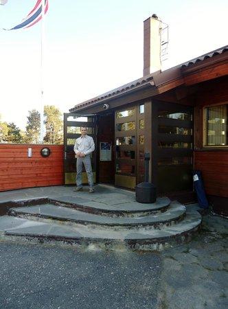 Scandic Karasjok : Центральный вход в отель.