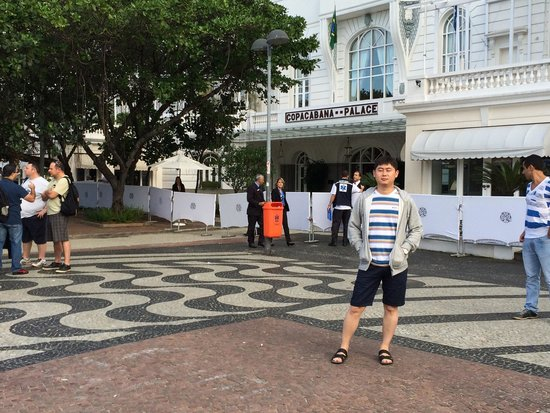 Belmond Copacabana Palace: Copacabana Palace ЧМ2014