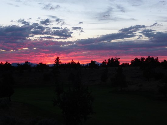 Brasada Ranch: Sunset from cabin 28