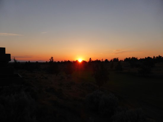 Brasada Ranch: Another sunset.