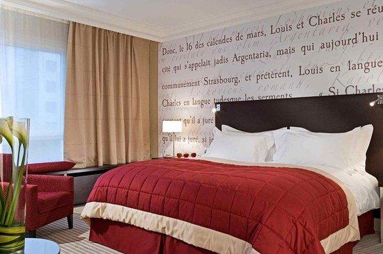 Sofitel Strasbourg Grande Ile : Chambre Luxury