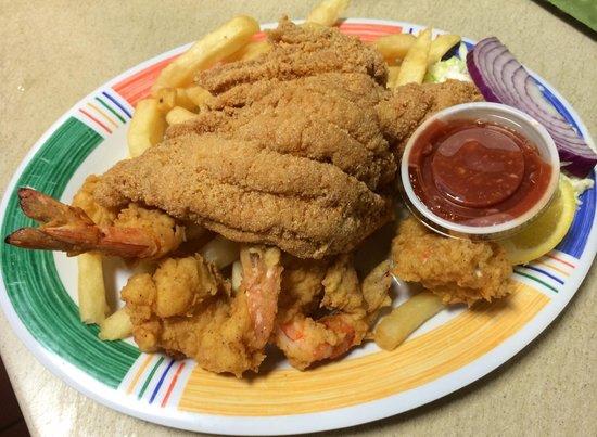 Woods Place: Fish & Shrimp