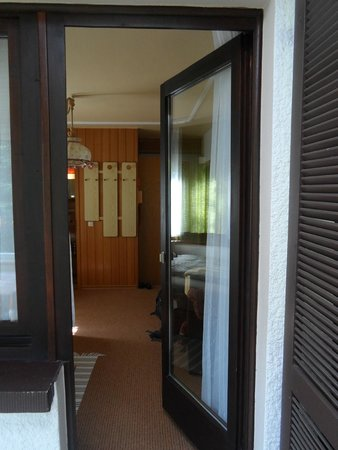 Hotel Schuchmann: View of the room from the balcony