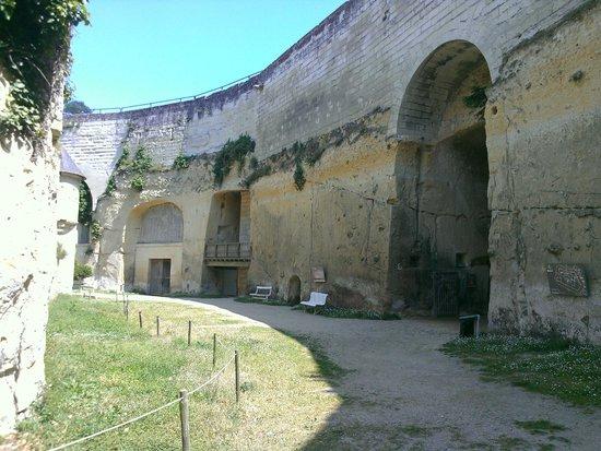 Château de Brézé : Dans les douves du château