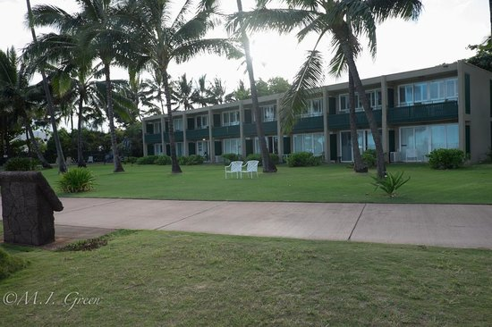 Hotel Coral Reef : The ocean front room seen from the beach