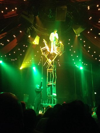 Absinthe: First act. Amazing.