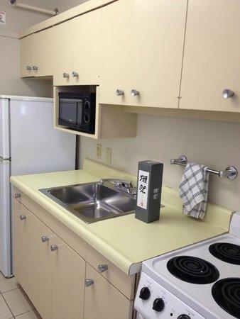 Ambassador Hotel Waikiki: キッチン