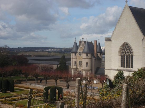 Castle of Angers: chateau angers