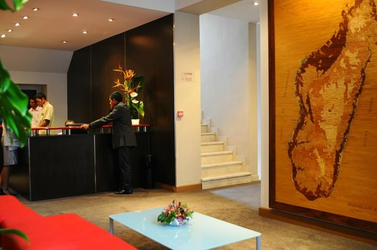 Tana Hotel: RECEPTION