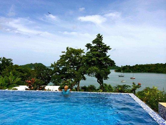 """Hotel Bocas del Mar : Piscine """"semi-privée"""" pour qq chambres"""