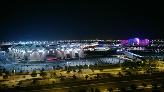 Yas Island Rotana: room view