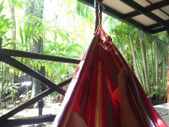 Hotel Tropico Latino: hammock time on patio