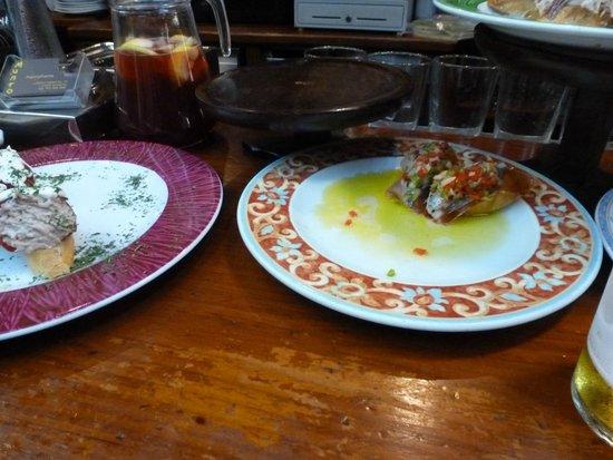 Bar Restaurante Munto : anchovy and tomaotes