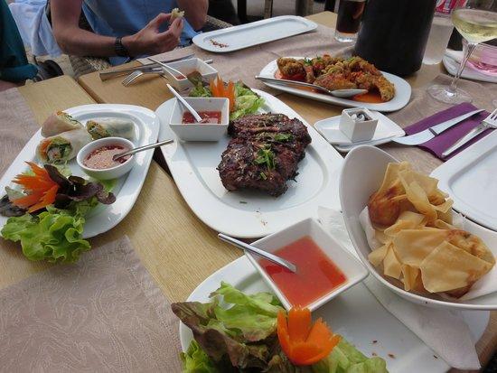 Thai Botanico: Selection of starters