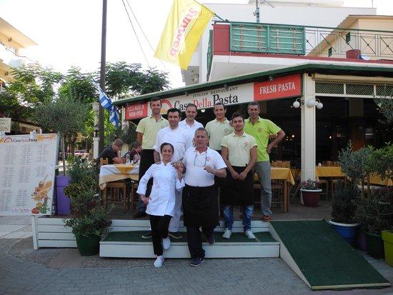 Casa Della Pasta: All The Staff