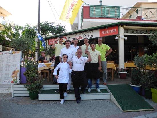 Casa Della Pasta: Best Restaurant in town.