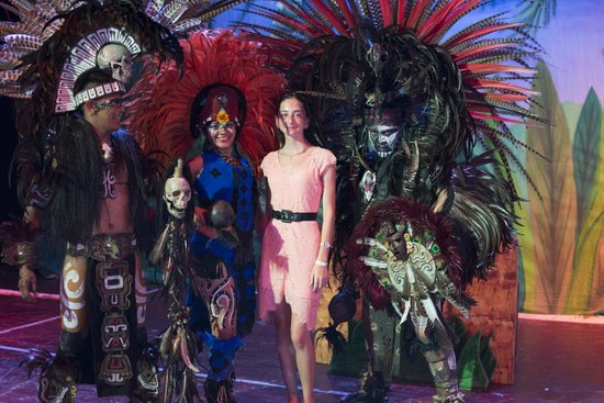 Grand Bahia Principe Coba: Amazing Shows Each NIght