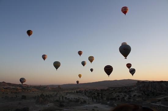 Cappadocia Voyager Balloons : beautiful morning in cappadocia