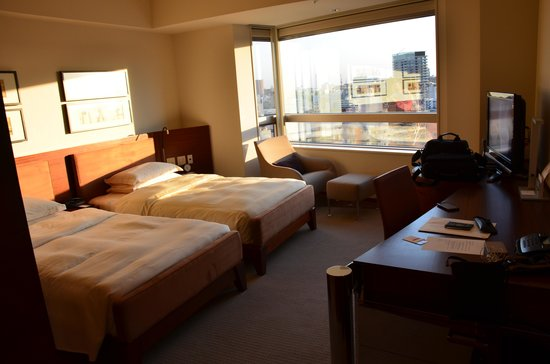 Our room in the Grand Hyatt Tokyo