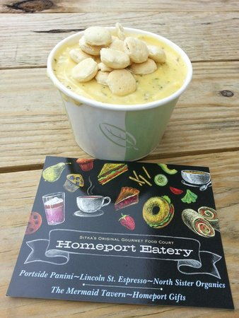 Homeport Eatery: Broccoli Cheese Soup.