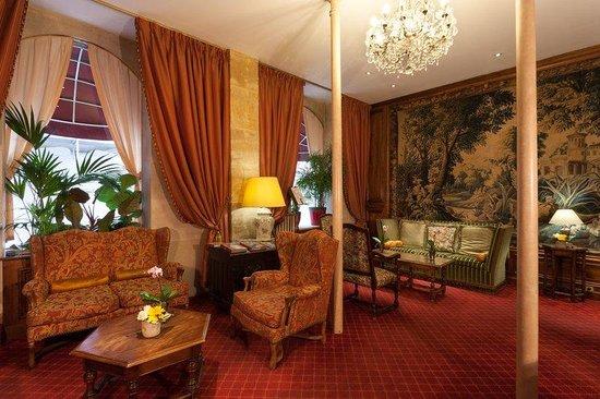 Hôtel Amarante Beau Manoir : Lounge at Hotel Amarante Beau Manoir