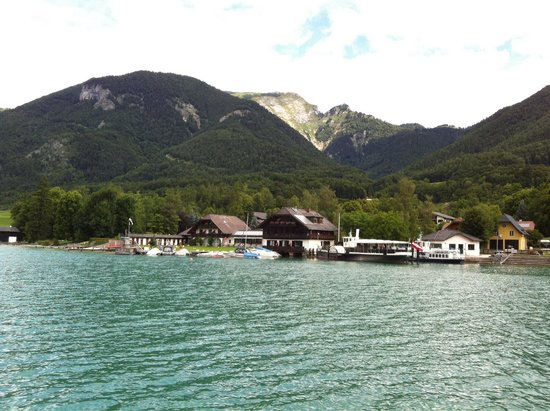 Haus Arndt: View from boat