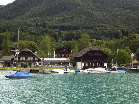 Haus Arndt: View from boat.