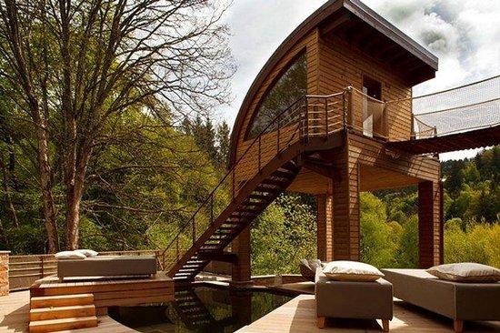 Hostellerie La Cheneaudiere - Relais & Chateaux: NATURE-SPA