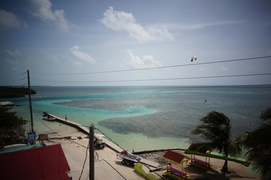 Caye Caulker Condos : View from the rooftop
