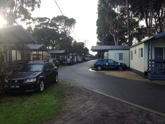 BIG4 Phillip Island Caravan Park: Cabin row