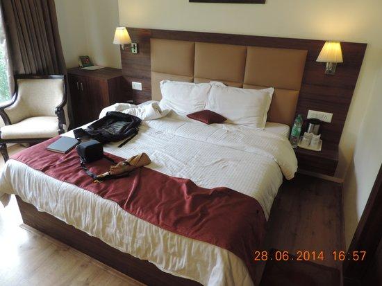 Sandhya Resort & Spa Manali: Our Room...