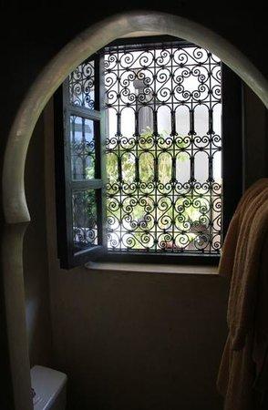 Riad Magellan Yoga: Badfenster