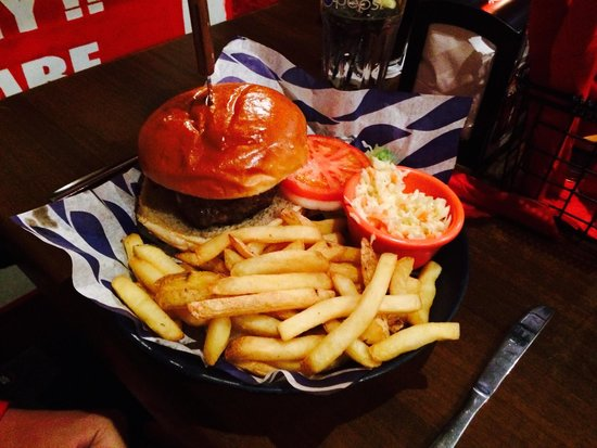Fat Sam's: Burgers!
