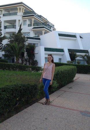 El Mouradi Palm Marina : Me at the hotel