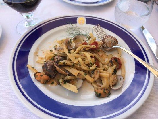 Al Ristoro del Moro: Great seafood pasta