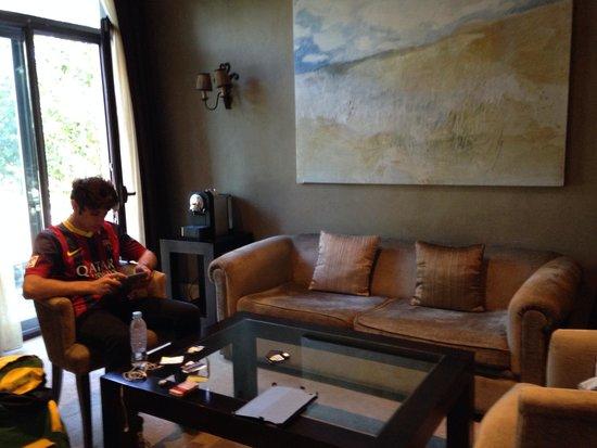 Hotel Duquesa de Cardona : Living room