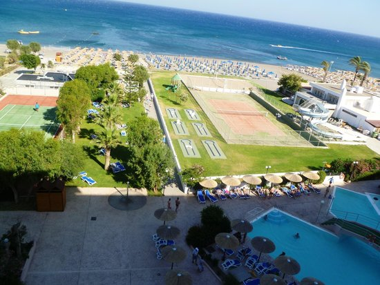 Olympos Beach Resort: view from room 402