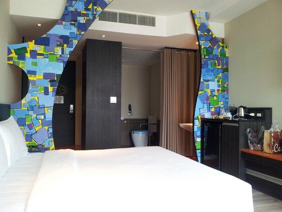 Siam@Siam Design Hotel Pattaya: ห้องนอน