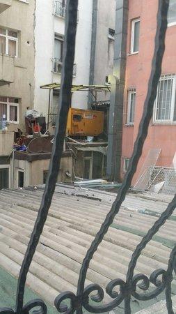 Istanbul Royal Hotel : Lo que se veía desde mi habitación